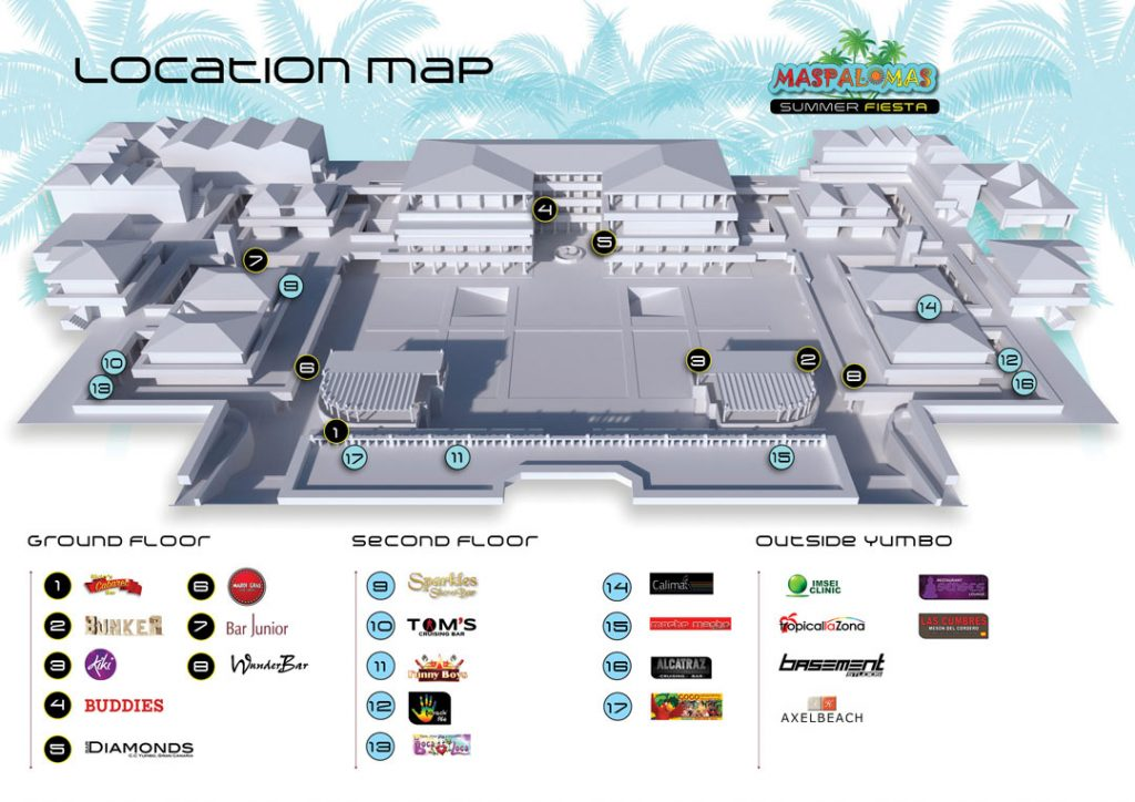 Yumbo map